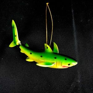 Other - 🦈 Shark Christmas Ornament - Moving Tail & Fins